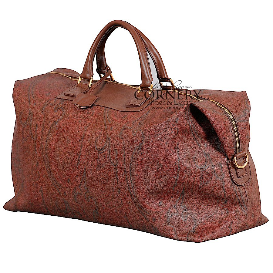 ETRO OVERNIGHT SHOULDER BAG